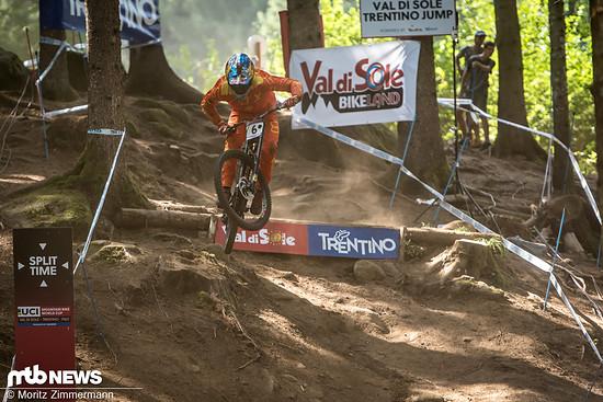 Loïc Bruni ging als drittletzter Fahrer an den Start …