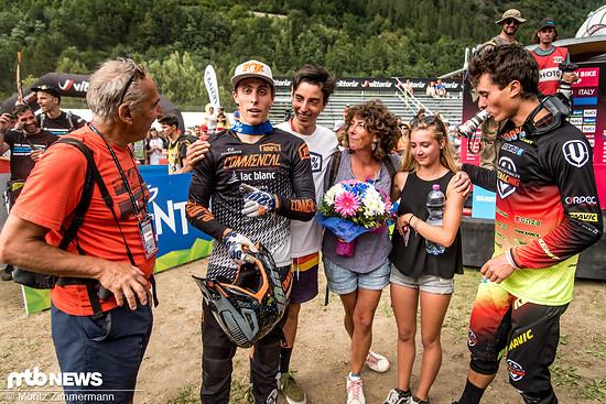 Wir präsentieren: Die aktuell schnellste Downhill-Familie der Welt!