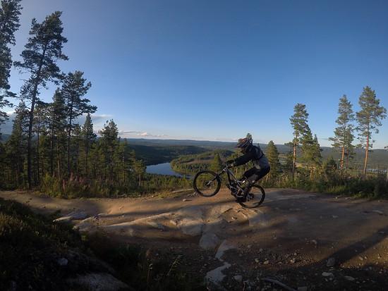 Järvsö Bikepark, Schweden