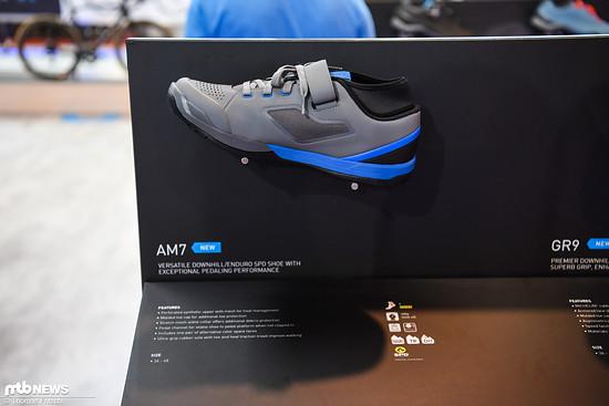Der neue Shimano AM7 Schuh