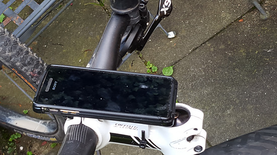 SmartphoneHalterung 2