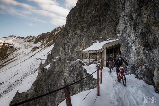Mountainbike-Rennen? Naja, sowas in der Art