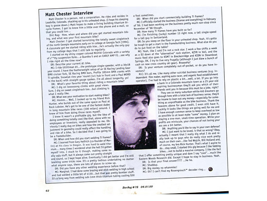 MC-CD Interview Januar 2000