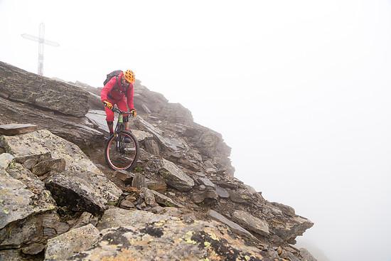 der Gipfel welcher sich für mich immer in dichten Nebel hüllt