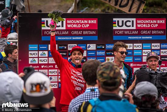 Und auch Jack Moir wird sich an das Rennen 2017 in den Highlands lange Zeit erinnern