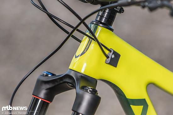 Die Abdeckungen der Leitungseingänge machen einen durchdachten Eindruck und berücksichtigen auch unterschiedliche Durchmesser