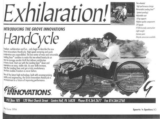 GI handcycle