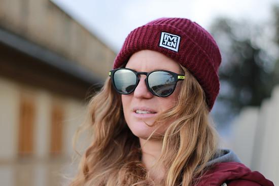 Tina Beks größtes Abenteuer war auf Brettern im Schnee, doch auch auf dem Bike ist sie genauso Zuhause