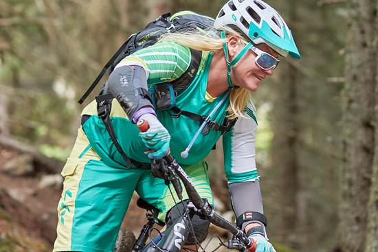 Antje Kramer war über 10 Jahre lang ungeschlagene deutsche Meisterin im Downhill