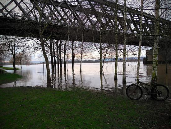 Hochwasser zum Feierabend