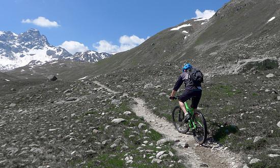 Trail zur Keschhütte