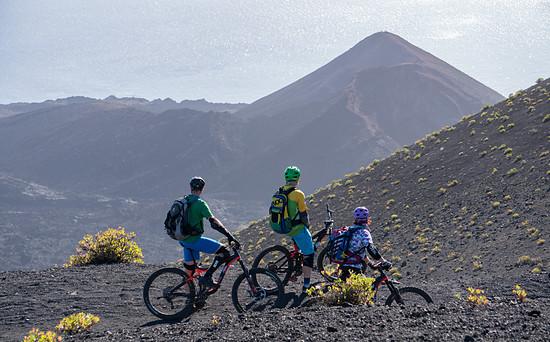 Blick auf den Vulkan