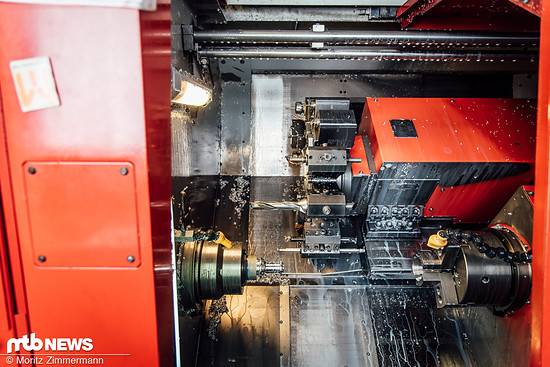 Bearbeitung in der CNC-Fräse
