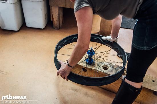 Auch Fatbike-Laufräder hat Tune im Sortiment