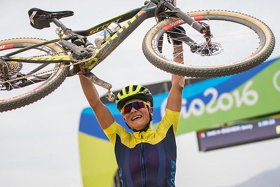 Der größte Triumpf in Jenny Rissveds junger Karriere - der Olympiasieg in Rio!