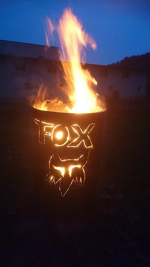 Fox Feuertonne