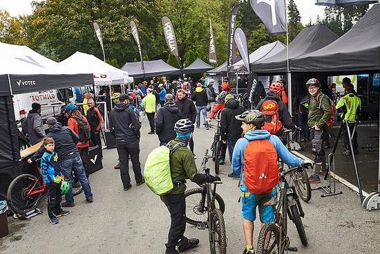 Viele Biker nutzen beim Germanys Finest die Testmöglichkeiten