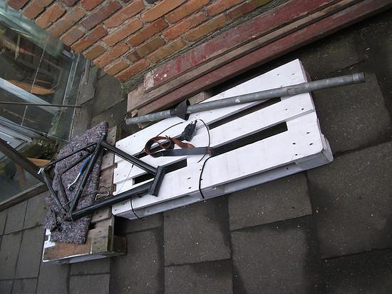 Das ist mal ein rohr ;) war mal auf dem dach für die Antenne