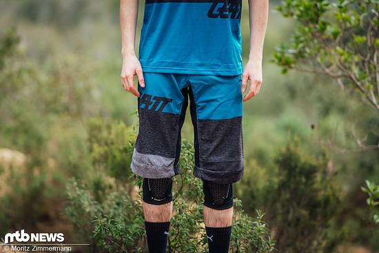 Die Leatt DBX 3.0 Shorts ist in sechs Größen und drei Farben erhältlich und liegt bei günstigen 74,90 €.
