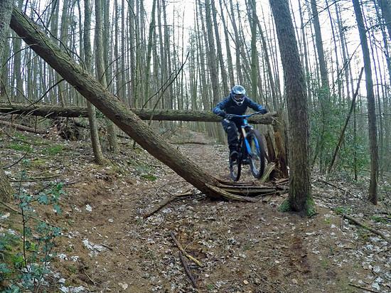 Das NS Bikes Fuzz zusammen mit IBC-User CRYistian in freier Wildbahn