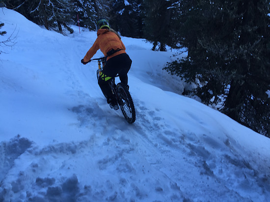 Trail auf Pischa, Davos