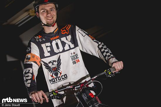 Jens Mo griff in die Vollen und testete die MT7 am Downhillbike