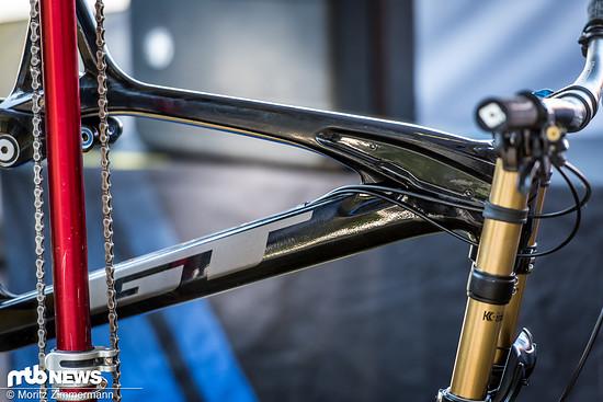 Ist das Bike schwarz?