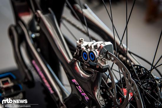Das Specialized-Team setzt seit diesem Jahr auf Magura-Bremsen und ist dort maßgeblich an der Entwicklung beteiligt
