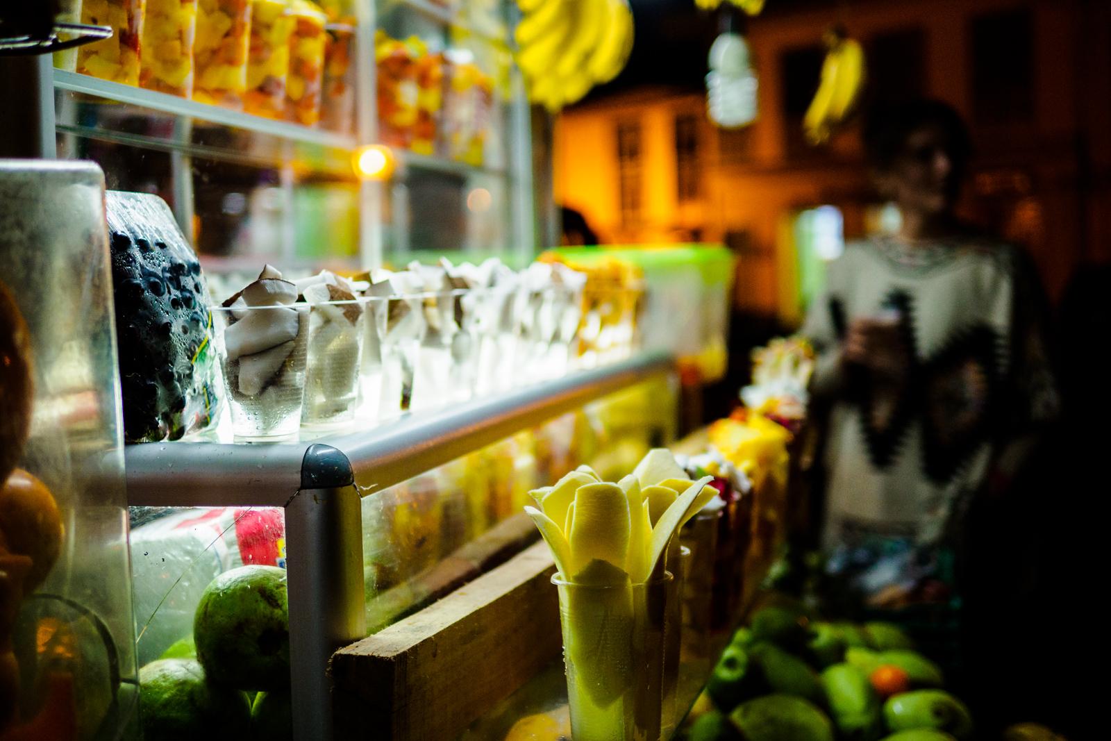Foto: Frische Früchte in allen Farben und Formen