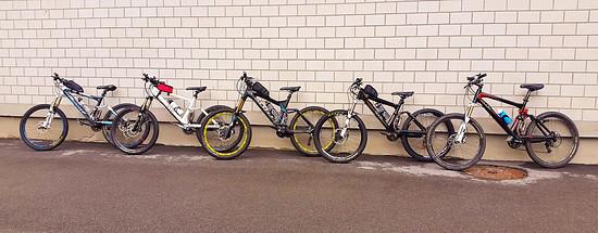 Bike-Transalp 17´ // Scott Genius