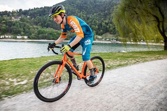 Ausflug auf das Gravel Bike am Lago di Ledro