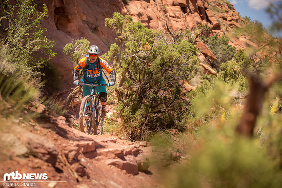 It's never downhill in Moab