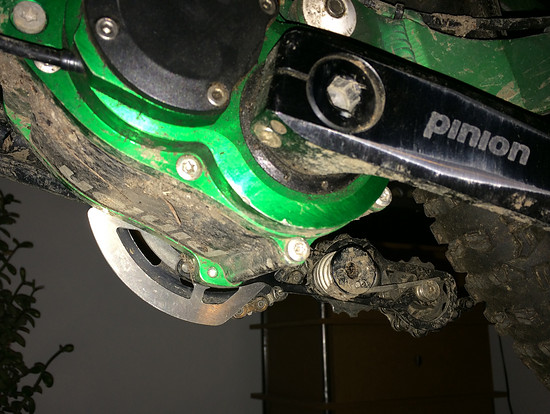 Zerode Chainring Protection
