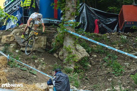 Max Brandl im Downhill.