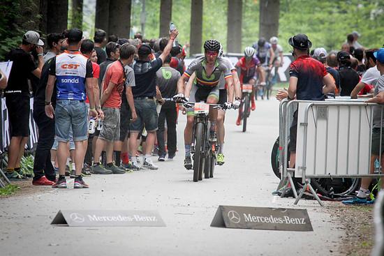 Vlad Dascalu überraschte in der U23-Kategorie in Nove Mesto