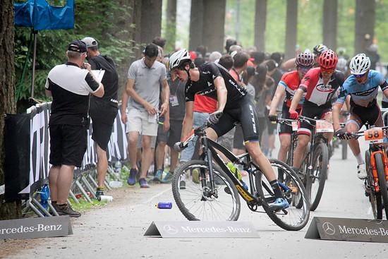 Einmal mehr bester Deutscher im U23-Rennen: Simon Schneller