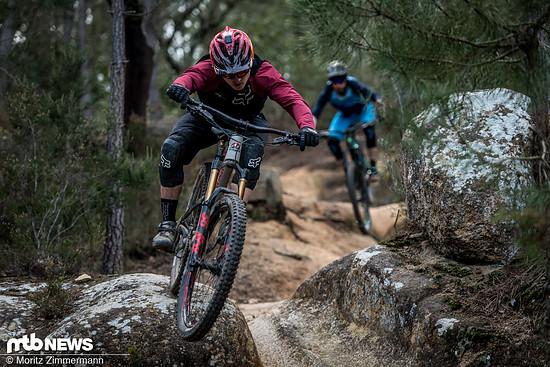 Enduro-Bikes ermöglichen es, lange Touren in angenehmer Gesellschaft mit anspruchsvollem Trailgeballer zu verbinden