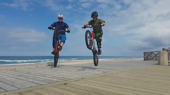 FATHER & SON JUMP, JUMP ...