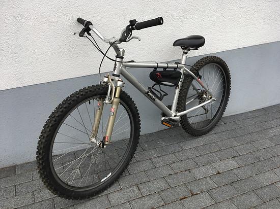 Mein Bike fürs Graspop Festival in Belgien