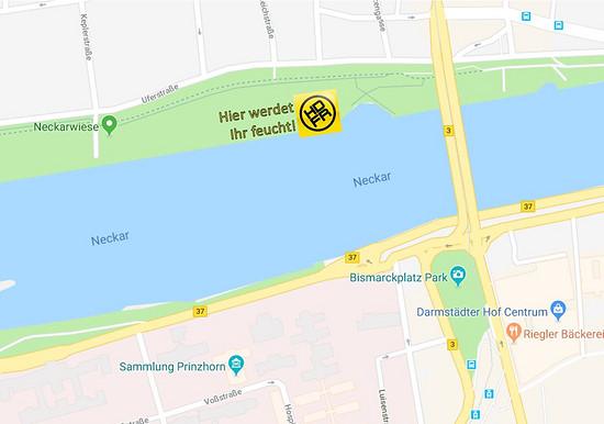 Location Neckarjump