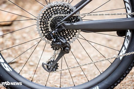 Canyon bietet die Bikes mit SRAM und Shimano-Antrieben an