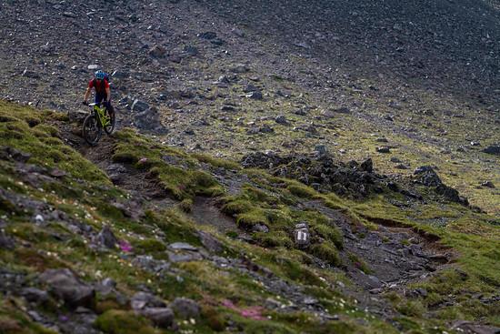 Die Bergbahnen bringen uns jedes Mal wieder in alpine Regionen