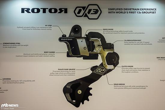Die technischen Details des Schaltwerks auf einen Blick