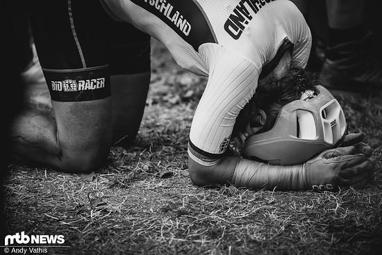 Elisabeth Brandau fuhr in Val di Sole mit gebrochener Rippe ein starkes Rennen. Die Deutsche wurde am Ende auf Platz 8 gelistet