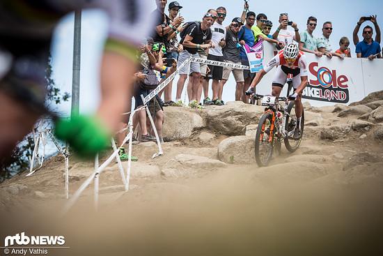 Mathieu van der Poel konnte bereits zwei der drei Rennen des Short Tracks für sich entscheiden
