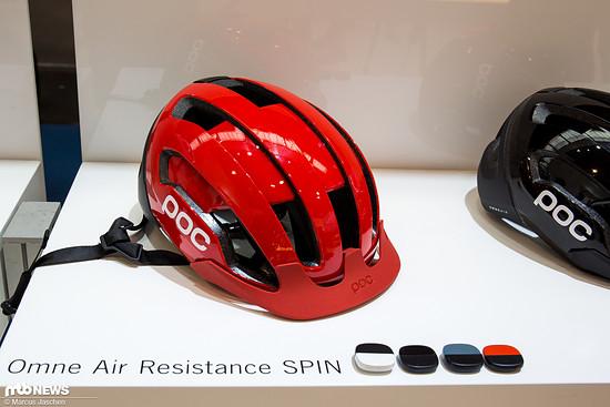 Der 160 € teure Helm ist in vier Farben erhältlich.