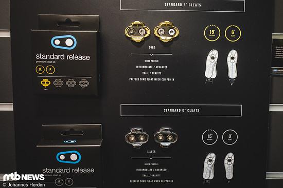 """… und """"Standard Release""""-Varianten verfügbar"""