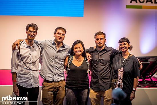 Das Veer-Team auf dem Startup-Pitch