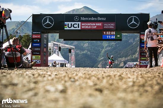 Weltcupsieg Nummer 1 für Gerhard Kerschbaumer!