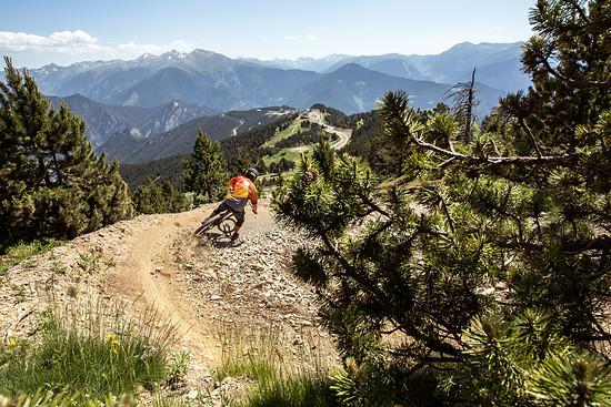 Rider: Paul Freude / Location: Commencal Line, Bikepark Vallnord, Andorra